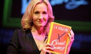 J. K. Rowling, la autora