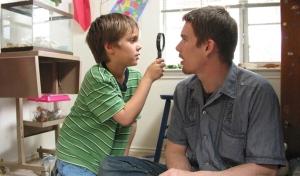 Boyhood - con su papá