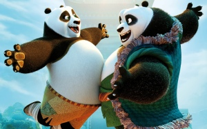 Kung Fu Panda 3 - Padre e hijo