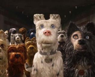 Isla de perros - Perros