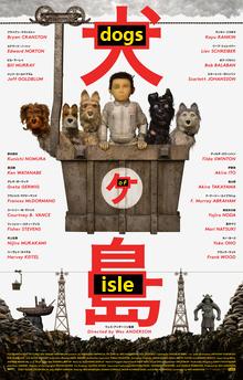Isla de perros - Poster