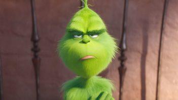 Grinch enojado