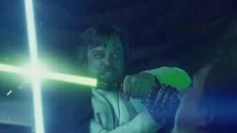 Star Wars - Luke vs Kylo
